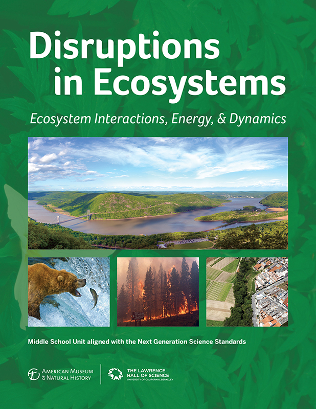 Disruptions in Ecosystems Book Cover