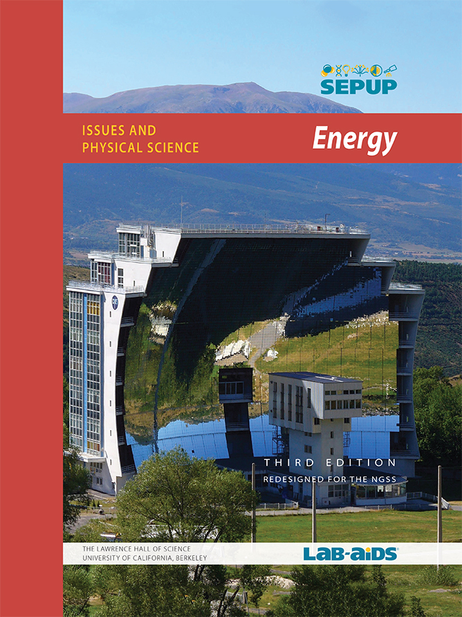 Cover Image for the Energy Unit showing a large solar heater.