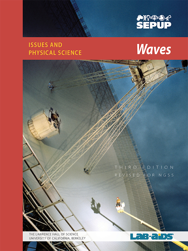Waves Unit Cover for Third Edition Designed for NGSS