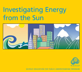 Investigating Energy from the Sun Book Cover